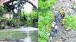 Niña cae puente Morelos
