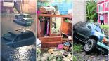 lluvia tromba daños casas inundación morelos