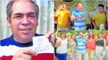 hombre gana lotería no gastó en lujos organiza fiesta vecinos amigos argentina