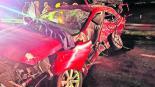 accidente automovilístico deja saldo de tres muertos y un herido en edomex