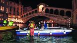 Gondoleros Venecia Italia Gran Canal