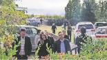 Claudia Pavlovich llega en helicóptero a sepelio de la familia LeBáron en Sonora