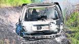 hallan cadáveres hombres cuerpos calcinados camioneta abandonada vehículo tlaltizapán