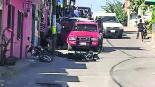 motociclistas baleados los tiran heridos graves en el hospital lesiones mortales puente de ixtla
