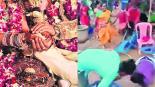 Boda India pelea campal