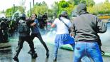Bloqueo de Policías Federales en el AICM deja saldo de 60 personas lesionadas