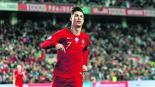El hat-trick de Cristiano Ronaldo no fue suficiente para que Portugal