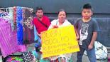 Se registra enfrentamiento entre policías y ambulantes en Edomex; piden los dejen trabajar