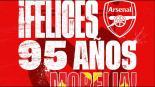 Arsenal es trolleado tras felicitación a Monarcas