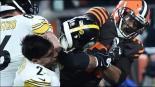 Myles Garrett es suspendido tras agresión a Mason Rudolph de los Steelers