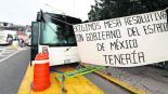 normalistas tenería bloque exigencias gobierno toluca edomex México