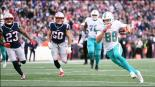 Dolphins sorprende y derrota a los Patriots