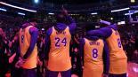 Así se enteraron los jugadores de los Lakers de la muerte de Kobe Bryant