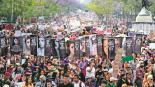 Más de 80 mil asistentes en una protesta de más de ocho horas, en la CDMX