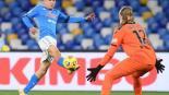 "Hirving ""Chucky"" Lozano anota gol en Cuartos de Final de la copa de Italia"