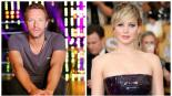 Chris Martin y Jennifer Lawrence,