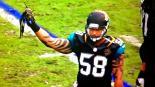 Jugador de la NFL le arranca el cabello a su rival