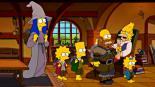 Los Simpson imitan película del Hobbit VIDEO