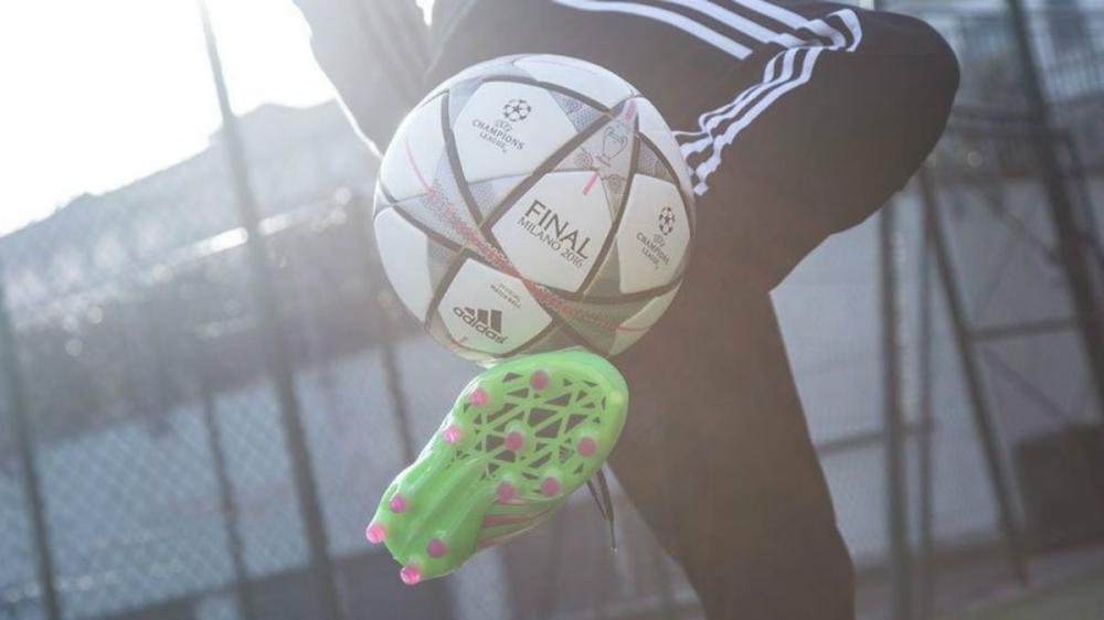 El balón será usado en la fase final de la Champions League (Foto: Cortesía Twitter)