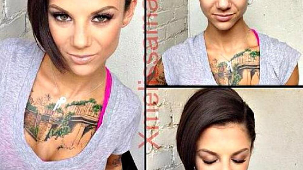 Actrices eróticas se transforman gracias al maquillaje | FOTOS