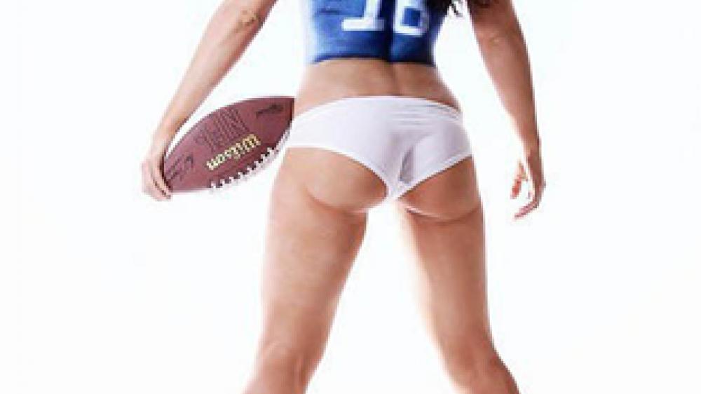 bodypaint, NFL, Futbol americano, cuerpos, semidesnudas, topless