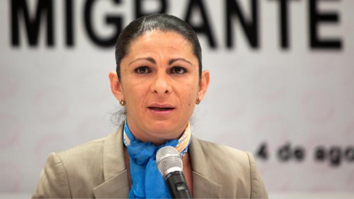 Ana Gabriela Guevara (Foto: Archivo El Gráfico)