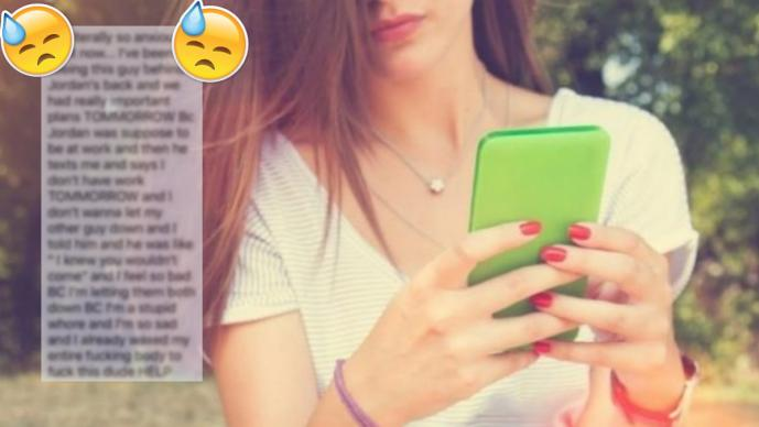 Ella envió por accidente un mensaje a su novio y relató infidelidad