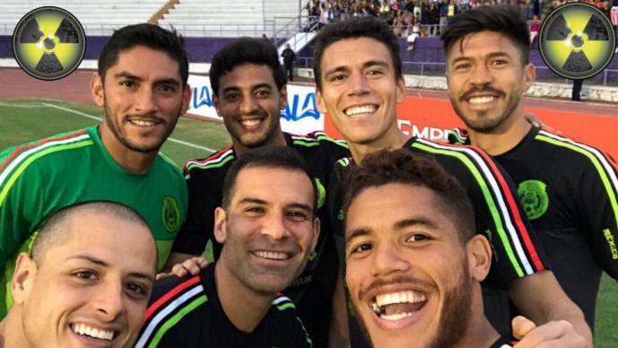 Sorprenden a la selección mexicana con control antidopaje