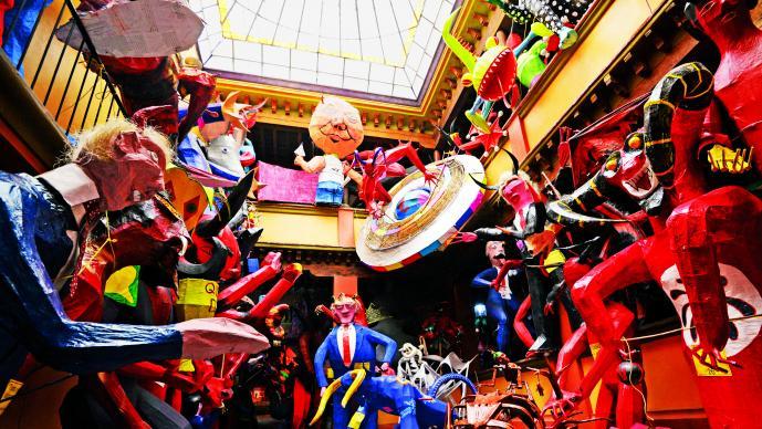 Queman a Donald Trump en Puebla
