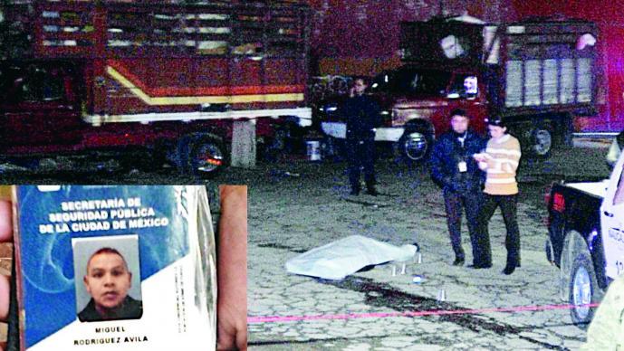 Policía auxiliar de la CDMX es asesinado en Naucalpan