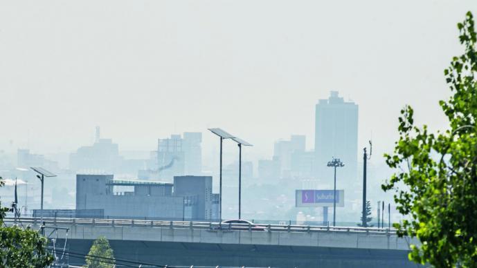 Aumenta contaminación en CDMX; Iztacalco, con 175 puntos