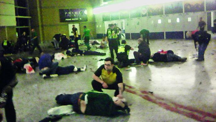 Reportan 12 menores heridos en ataque; identifican a primeras víctimas