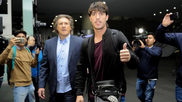 Mauro Formica ya esta en México para integrarse con Pumas