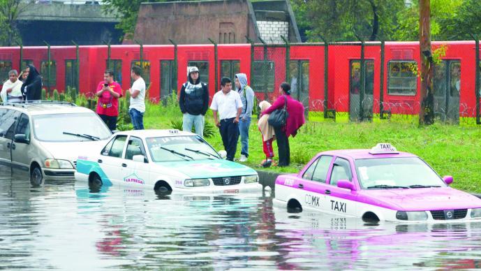 CdMx necesita 10 mil mdp para evitar inundaciones: Mancera