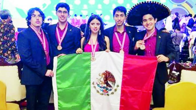 México gana 5 medallas en Olimpiada Internacional de Física