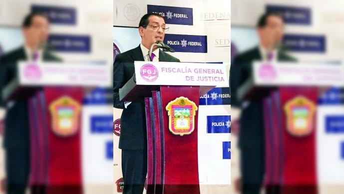 José de la Luz Viñas rinde protesta como fiscal Anticorrupción del Edomex