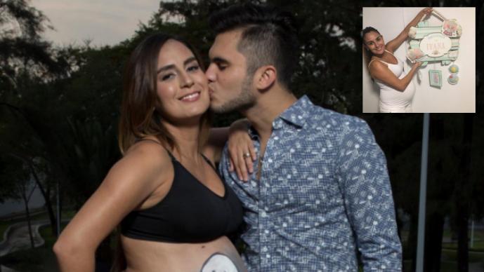 Iván y Paola se convierten en padres