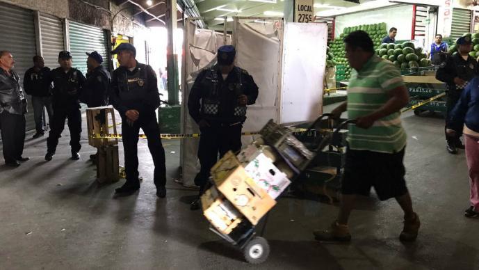 Linchan a delincuente en Central de Abastos en CDMX