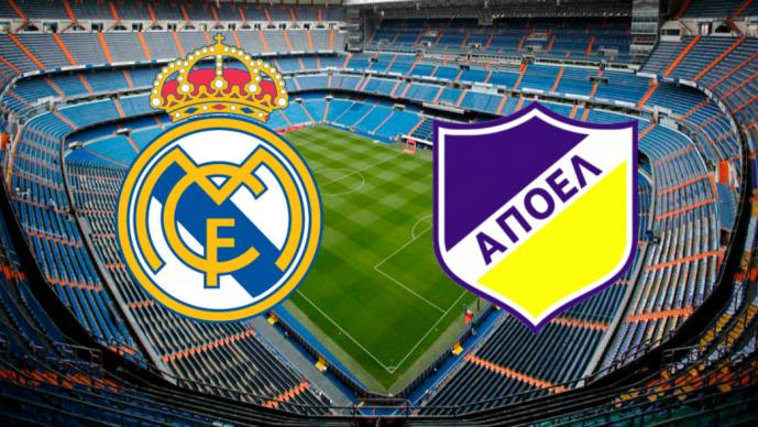 Real Madrid vs Apoel  1966a8187dd47