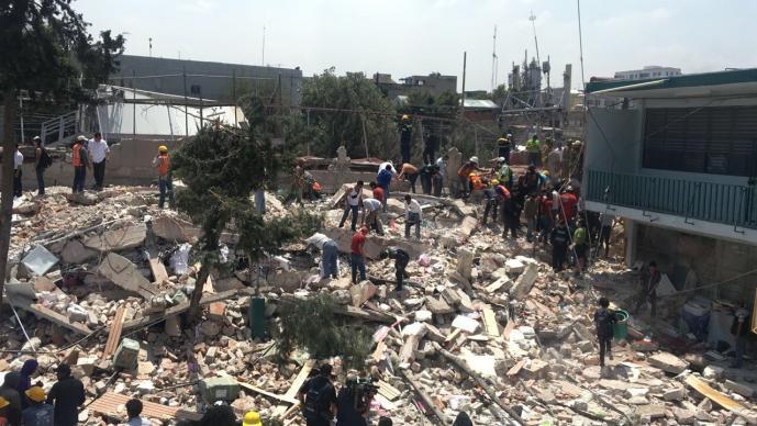 Adal Ramones envió mensaje desde Perú a sus compatriotas — Terremoto en México