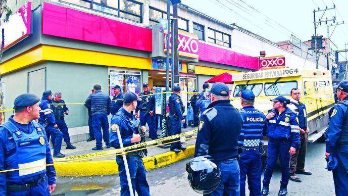 Intento de asalto a camioneta de valores en Iztapalapa deja dos muertos