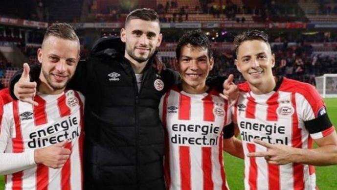Hirving Lozano anota en triunfo del PSV