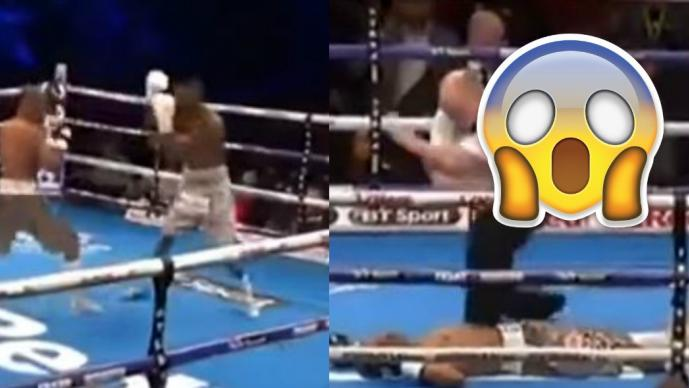 Tete, rompe record mundial con KO en boxeo
