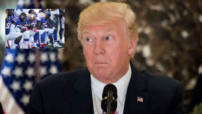 Trump cree que Goodell perdió el control de la NFL