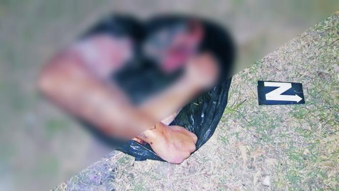 Abandonan restos humanos frente al MP de Neza