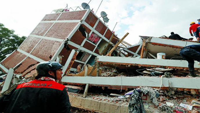 Construirán edificios en apoyo a damnificados por sismo