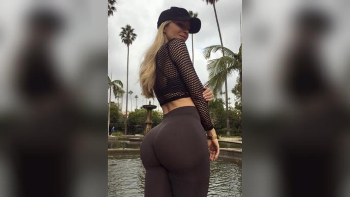 Chica Fitness De Instagram Seduce Con Sexy Tanga El