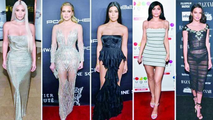 A los 17 años, Kim Kardashian era muy distinta — Instagram