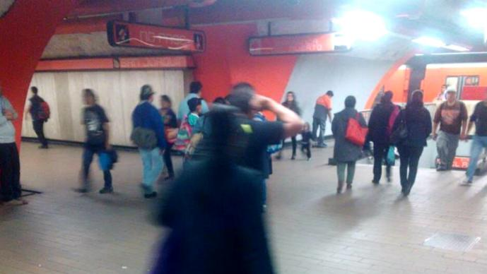 Tras sismo, se registra daño en taller del metro Tláhuac