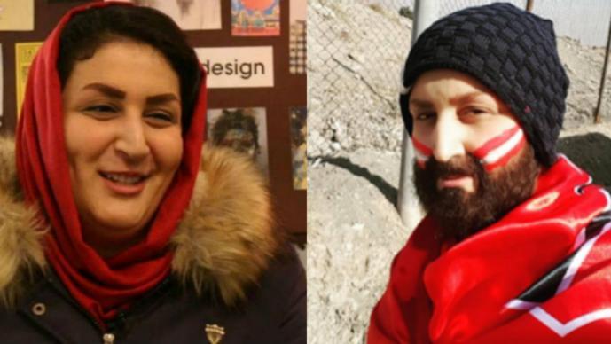 Mujer iraní se viste de hombre para asistir a partido de futbol